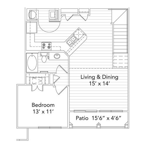 Lantana Gardens Apartments mountain laurel