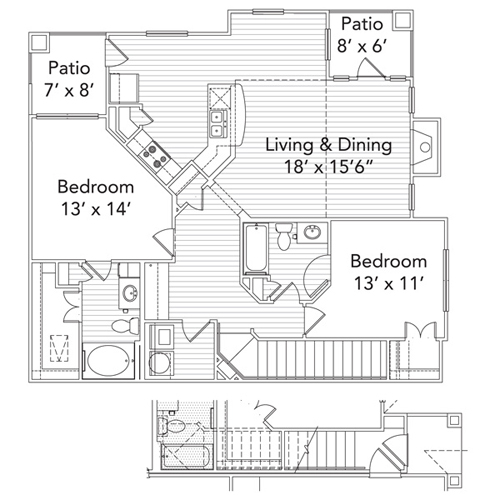 Lantana Gardens Apartments texas-sage